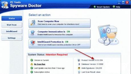 Spyware Doctor полезная программа для тех, кто много времени проводит в Интернете Spyware Doctor useful program for those, who a lot of tim